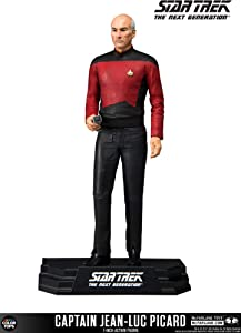 McFarlane Toys Star Trek Captain Jean-Luc Picard Collectible Action Figure