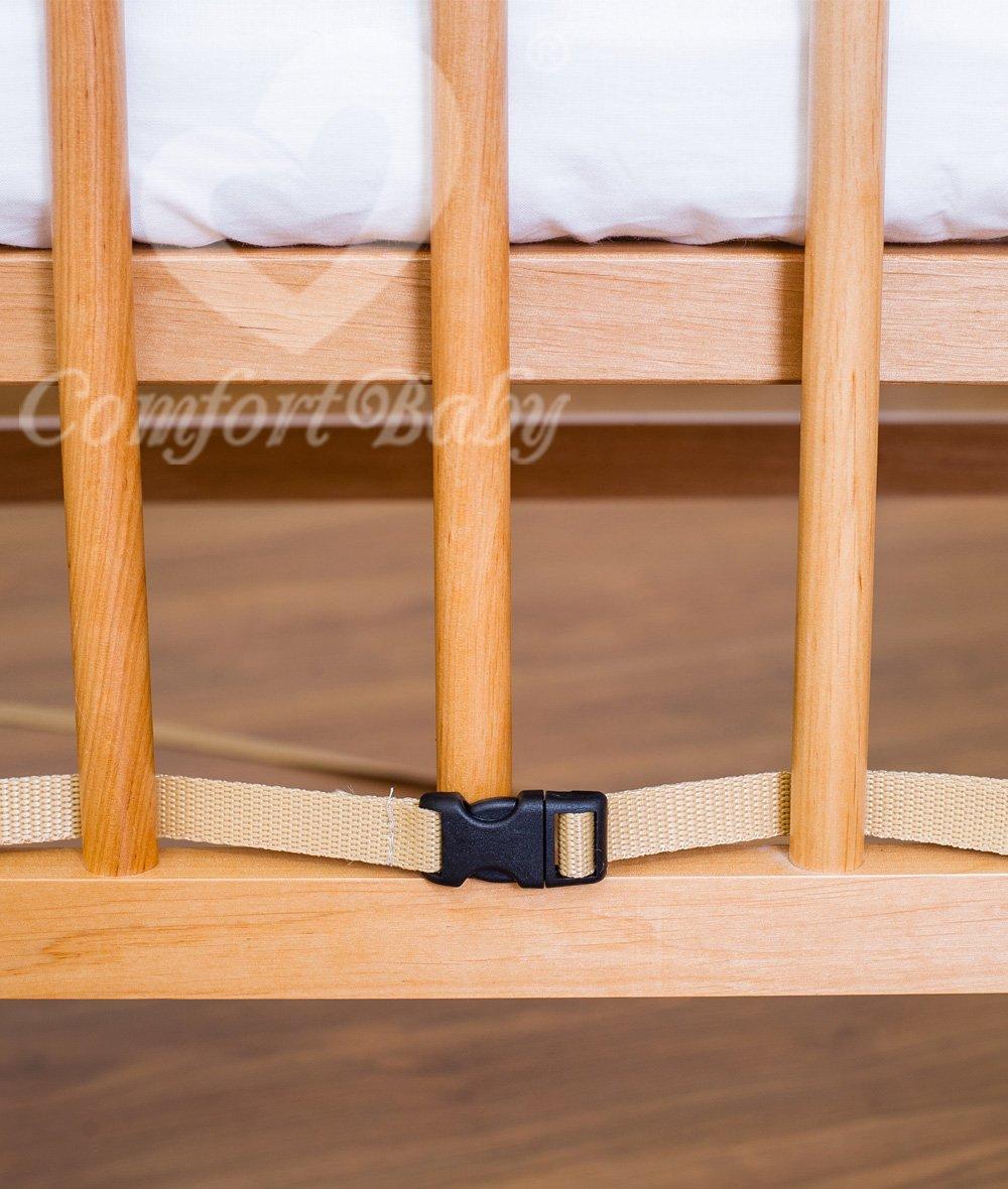 ComfortBaby 00010099-01 Sangle de fixation universelle pour lit /à sommier tapissier Multicolore