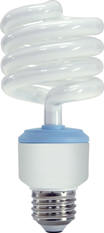 GE Lighting 62908 Reveal CFL 3-way 16/25/32-Watt (150-watt replacement) 540/1440/1935-Lumen T3 Spiral Light Bulb with Medium Base, 6-Pack
