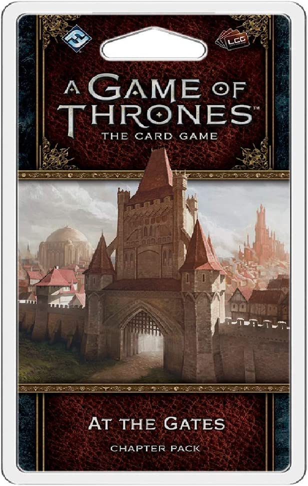 Fantasy Flight Games AGOT LCG 2ND Ed: At The Gates Chapter Pack ...