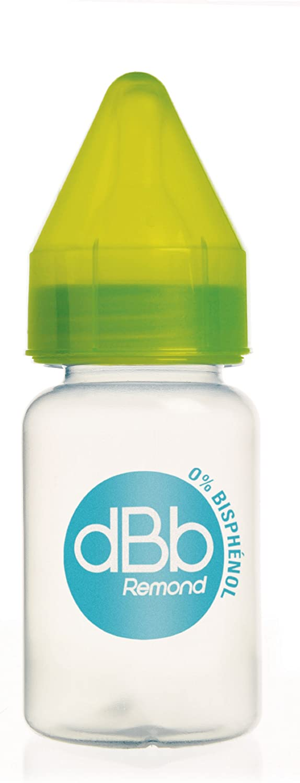 dBb Remond R/égulAir Biberon avec T/étine NN en Silicone Orange Translucide 120 ml