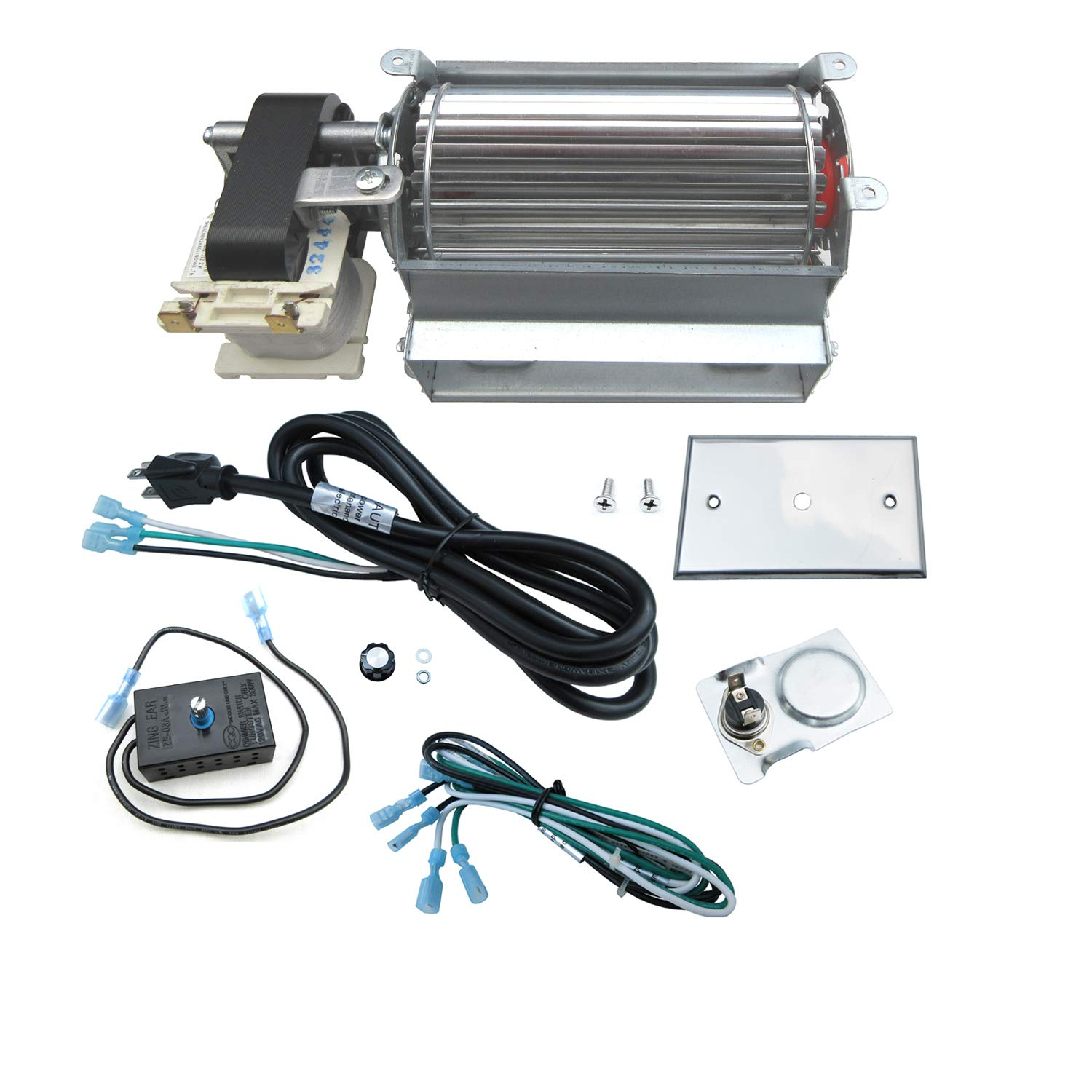 Direct store Parts Kit DN119 Fireplace Blower Kit FK21 GFK21 R7 ...