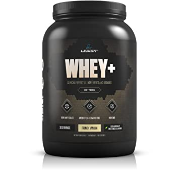Legion Whey+ Vanilla Whey Isolate Protein Powder