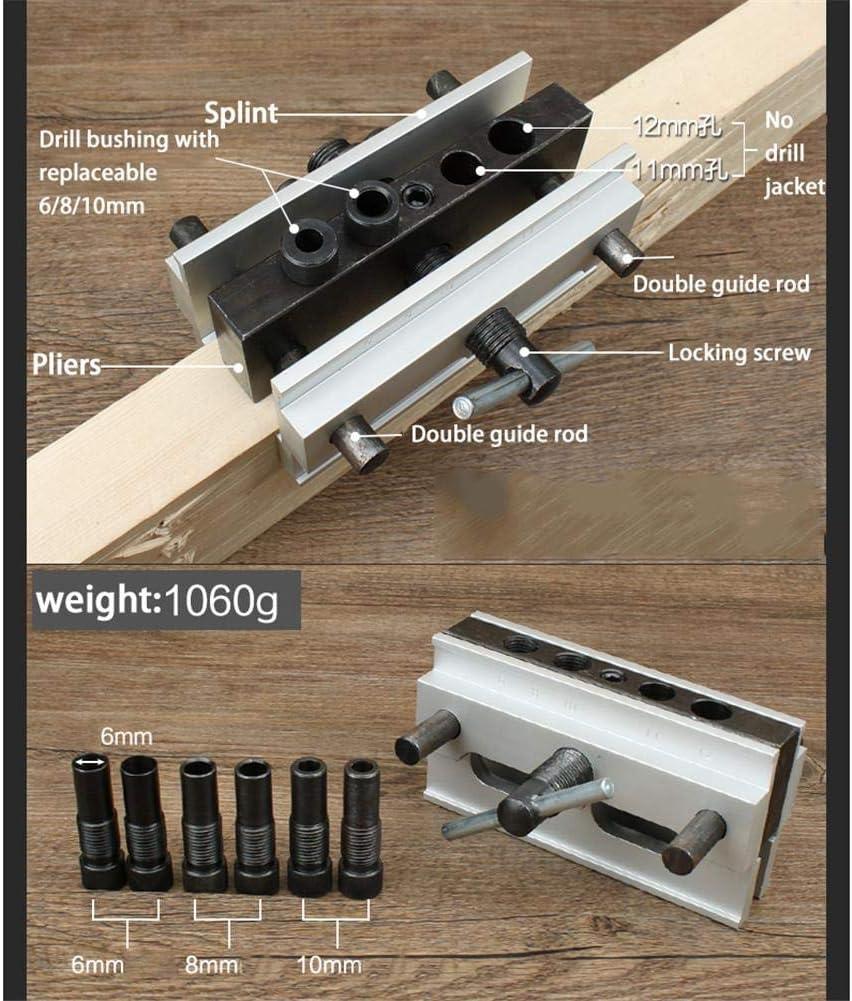 /55/mm diametro del legno drill bit profondit/à Posizionatore verticale per fissaggio di arresto anello Locator manica trapano strumento durevole Somedays 10/