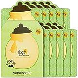 Papa Recipe Bombee Green Honey Mask Pack 10 sheets. Korean skin care, facial skin care sheet mask, deep Moisturizing for…