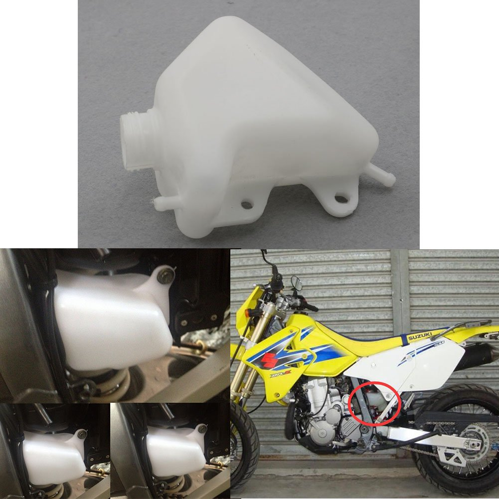 Radiator Coolant Overflow Tank Reservoir For Kawasaki KLX250 2008-2015 2014 2013 2012 2011 2010 2009