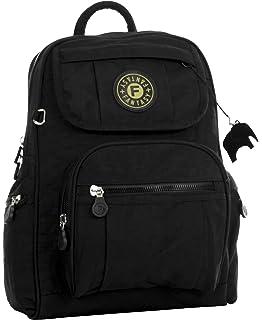4d7b4e70d76f Big Handbag Shop Unisex Rainproof Fabric Lightweight Multipocket Travel Backpack  Bag…