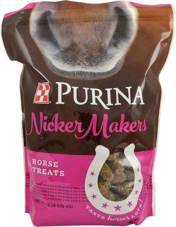 Purina | Nicker Makers Horse Treats | 3.5 Pound (3.5 lb) Bag