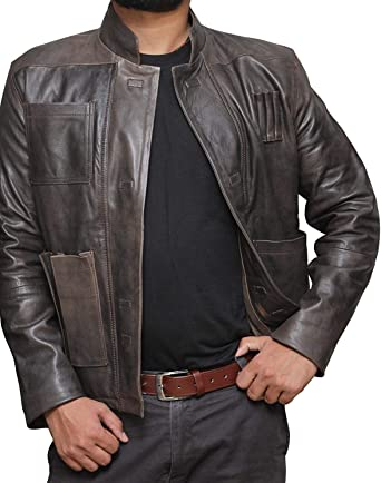 Miracle Mens Classic Fit Long Sleeve New PU Leather Motorcycle Short Jacket