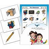 Tarjetas Educativas Inglés - Primario - Secundario - Adultus - Papelería - English Classroom Flash Cards