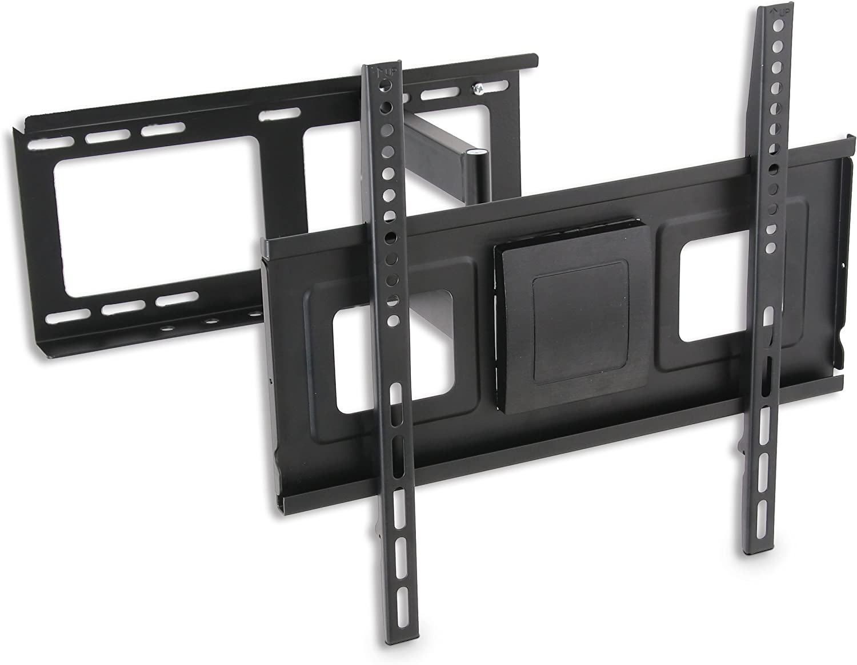 TM Electron TMSLC121M - Soporte de Pared Universal Giratorio con Brazo para monitores o televisores, Color Negro: Amazon.es: Electrónica