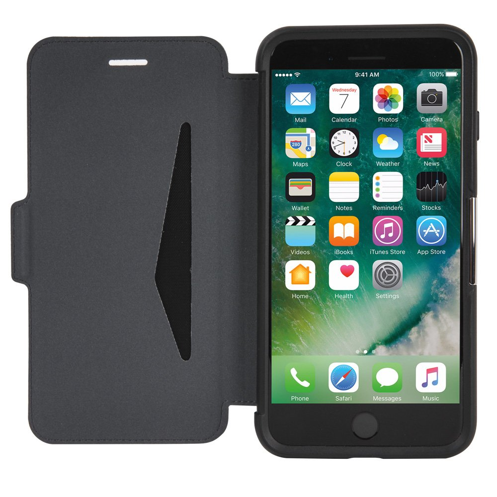 otterbox strada series case for iphone 8 plus iphone 7. Black Bedroom Furniture Sets. Home Design Ideas