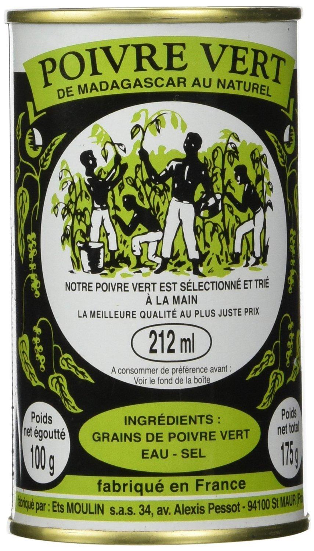 Madagascar Green Peppercorns in Brine - (6 Pack)
