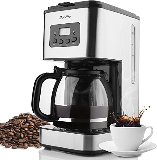 Amazon.com: Barsetto Cafetera Espresso Máquina para Hogar ...