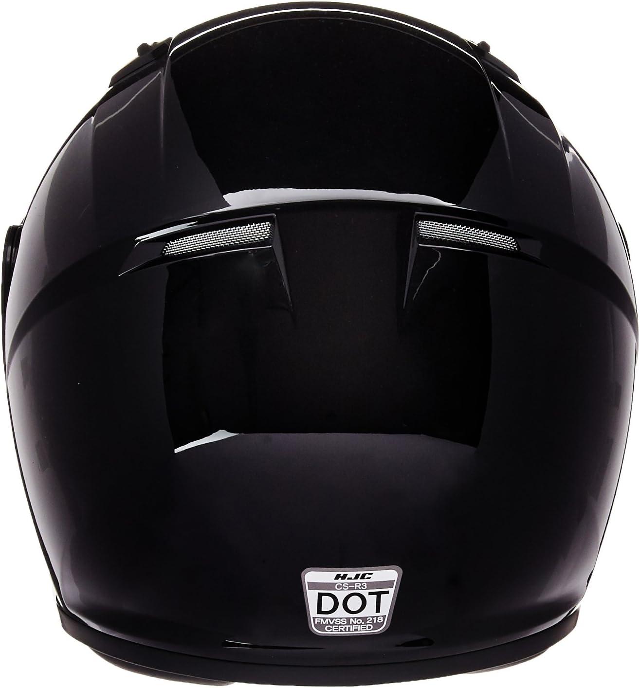 HJC CS-R2SN Full Face Snow Helmet Framed Dual Lens Shield Matte Black, Large