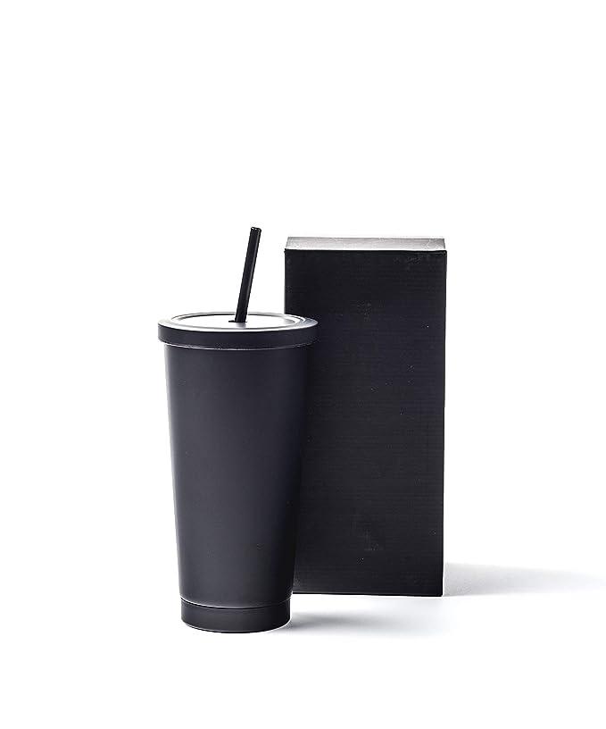 Amazon.com: Vaso negro mate – taza de café – taza de viaje ...