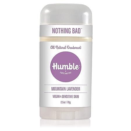 Humble Brands All Natural Vegan Deodorant Stick