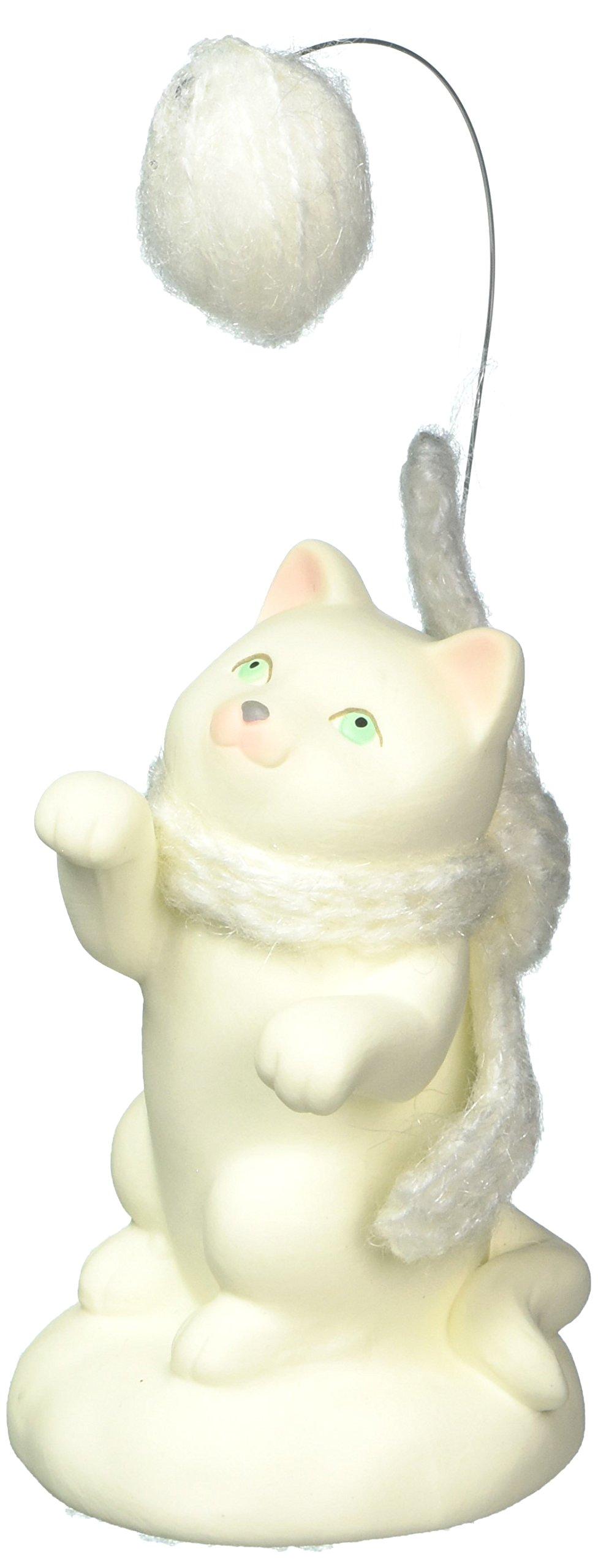 Department 56 Snowbabies Collectible Cat Animal Figurine, 4.25''