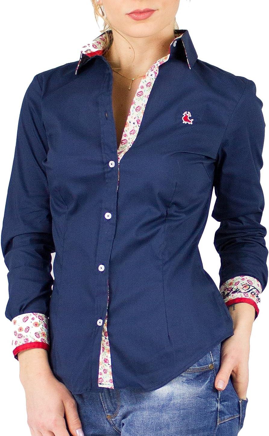 Piel de Toro 42140542 Camisa, Azul (Azul Marino 01), Medium ...