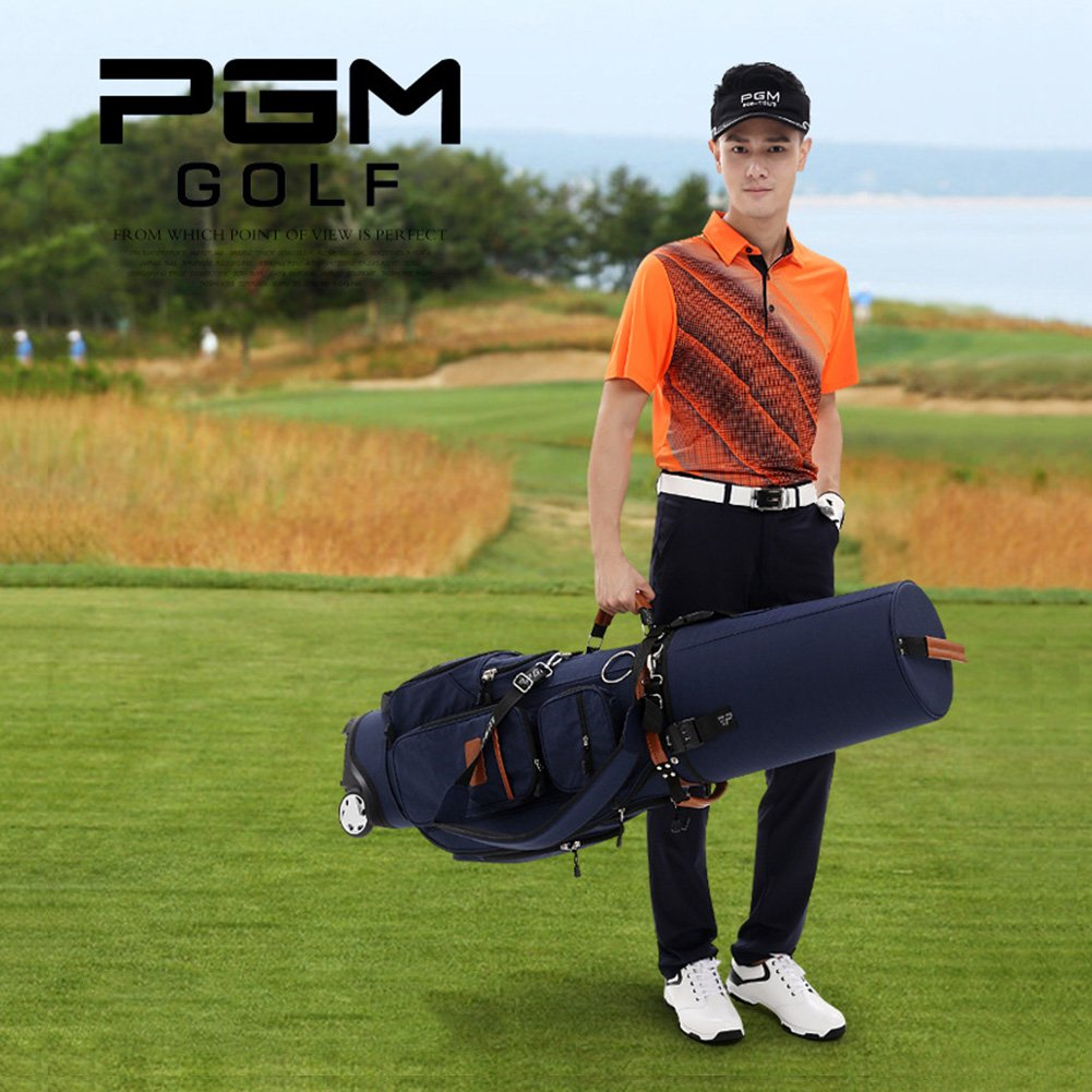 PGM Padded Travel Cover Bag With Wheels With coded lock----Free Send a Rain Cover (black) by PGM (Image #5)