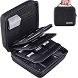 AUSTOR Storage Case for Nintendo 2DS, Black