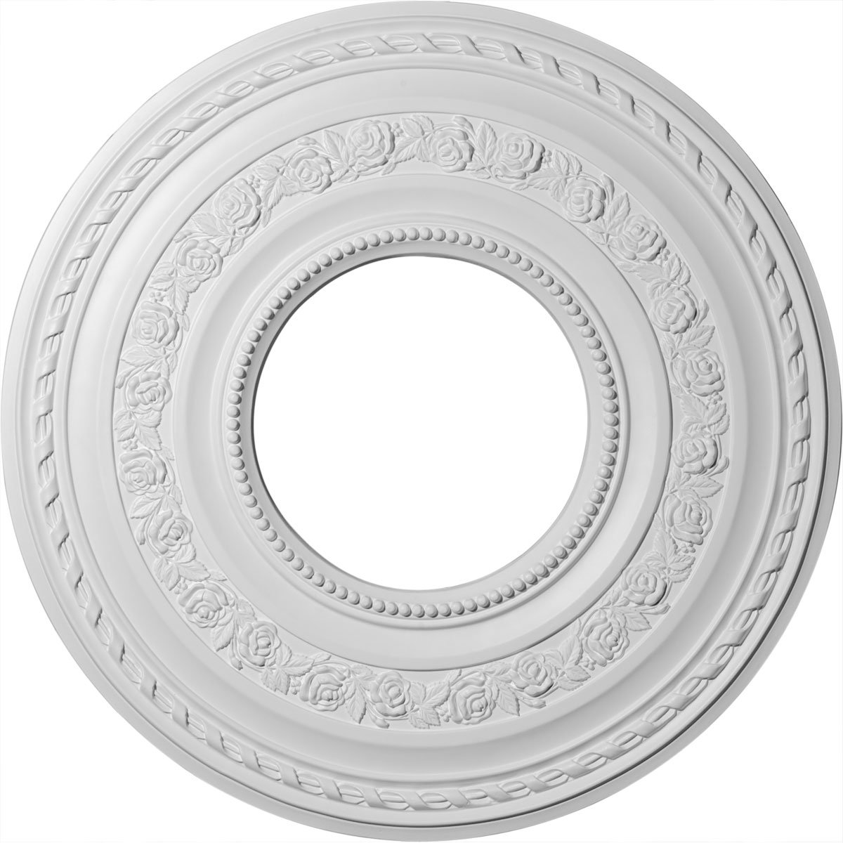 Ekena Millwork CM29AT 29 3/8-Inch OD x 11 5/8-Inch ID Anthony Ceiling Medallion