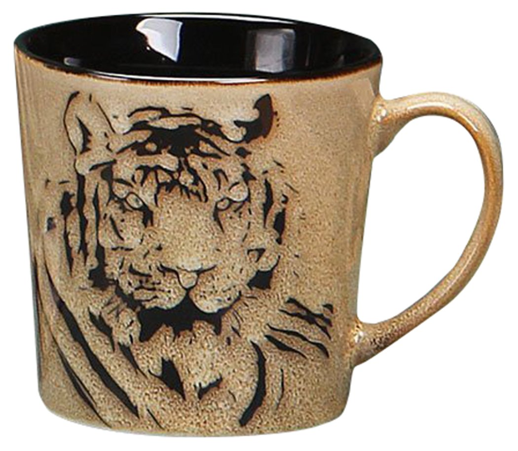 Unison Gifts TCD-452 Tiger Face Mug, 470ml B00U6NAOU2