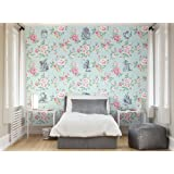 "Ohpopsi Alice in Wonderland ""Eternal"" Wall Mural, Paper, Multi-Colour, Large"