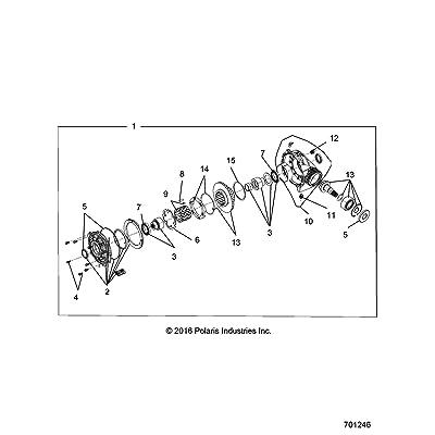 Polaris Drain Plug, Genuine OEM Part 2203738, Qty 1: Automotive