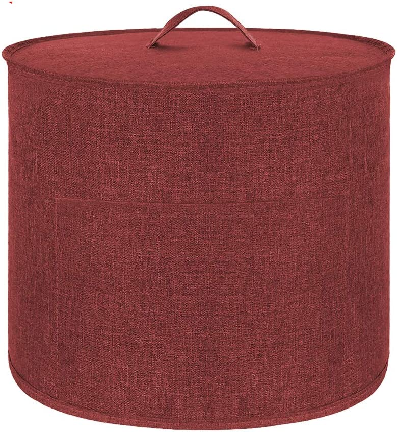 Appliance Cover Dust Cover Watetproof for 6 Quart Instant Pot,Electric Pressure Cooker Rice cooker,Air Fryer and Crock Pot, Machine Washable (Wine Red, For 6 Quart Instant Pot)