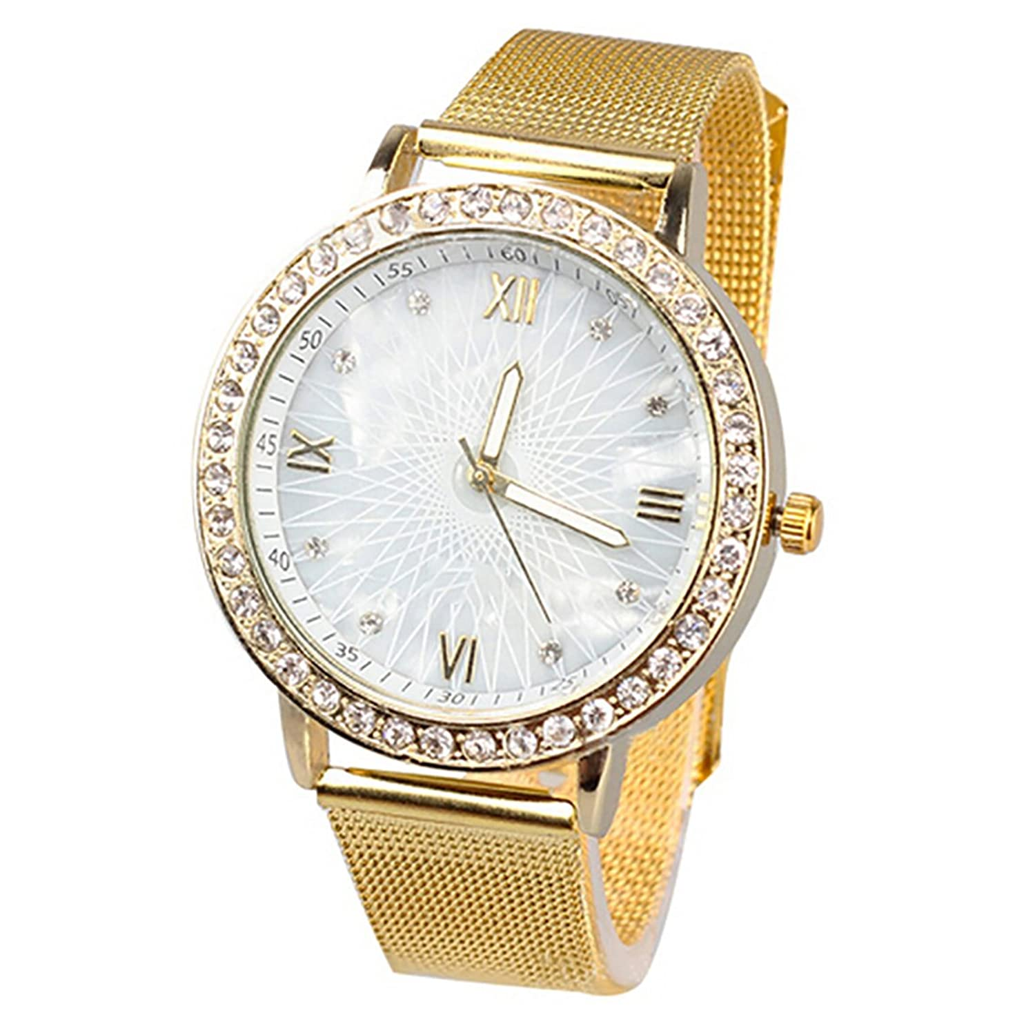 Amazon.com: 2016 WomenS Fashion Luxury Dress Watches Watch Ladies Rhinestone Casual Wristwatches Relogio Feminino Reloj Clock: Watches