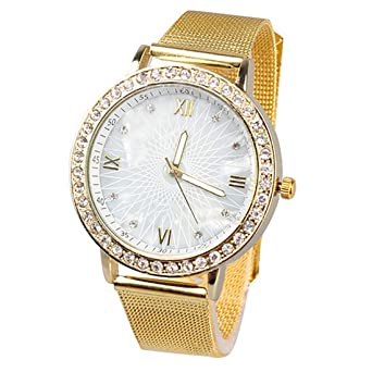 2016 WomenS Fashion Luxury Dress Watches Watch Ladies Rhinestone Casual Wristwatches Relogio Feminino Reloj Clock