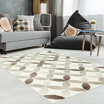 Teppich Modern Designer Wohnzimmer Schlafzimmer Läufer Inspiration Net  Pastell Multi Braun NEU, Größe In Cm