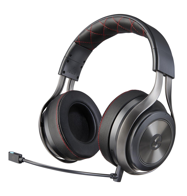 LucidSound LS40 Premium Wireless Gaming Headset, DTS Headphone:X 7.1 Surround Sound - Graphite - PlayStation 4 by LucidSound
