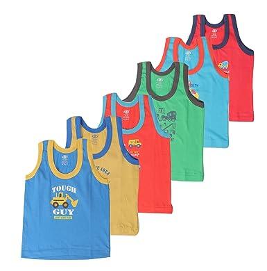 fa85e09ef Zero Baby Cotton Sleeveless Vests (Multi