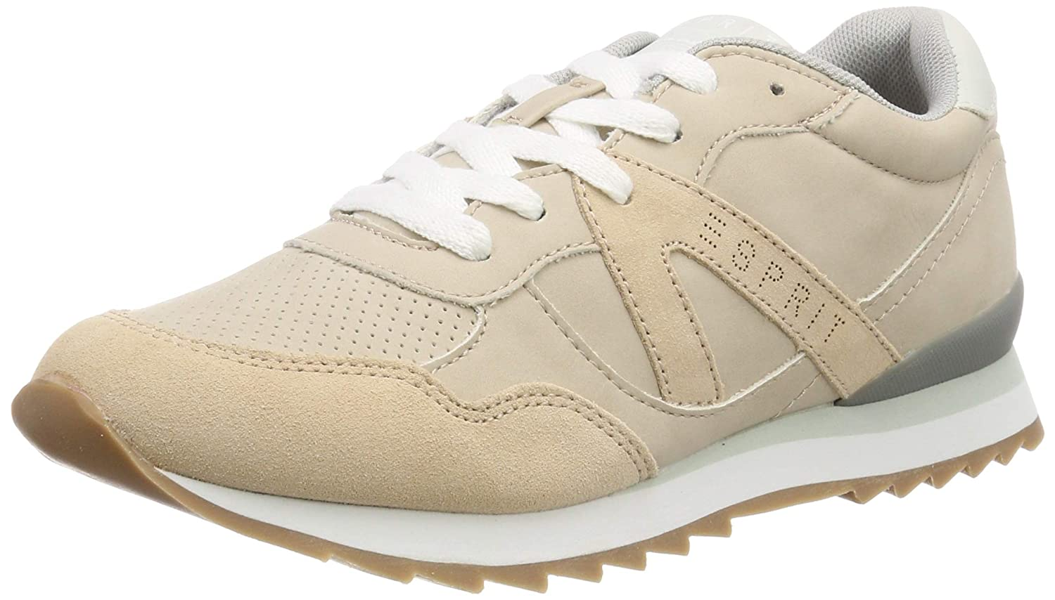 Beige (Skin Beige 280) ESPRIT Women's Astro Lu Low-Top Sneakers