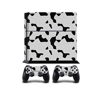 Amazon com: Cow Fur Print PS4 PlayStation 4 Vinyl Wrap/Skin