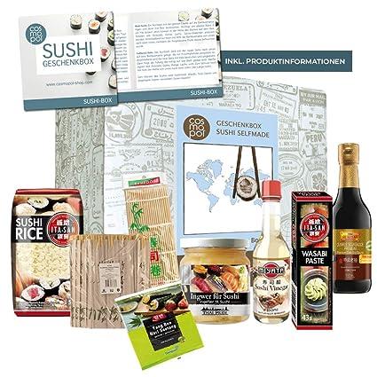 Weihnachtsgeschenke Lebensmittel.Asiatisches Geschenkset Sushi Box Tolles Geschenk Für Sushifans Genießer Sushi Selber Machen Geburtstagsgeschenk Weihnachtsgeschenk
