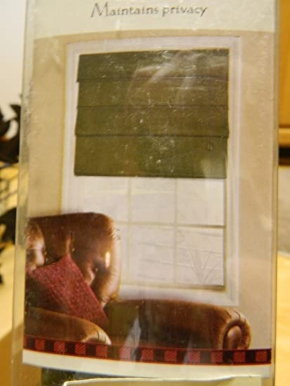 green roman shades yellow woolrich fabric roman shade 27 72 olive green faux suede amazoncom