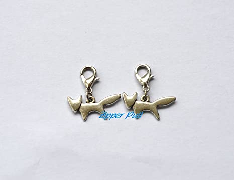Encanto. ~ plata Fox charms, Fox colgante, Animal charms ...