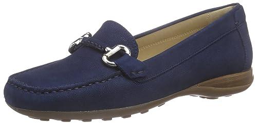 Geox Euxo Mocassini Donna Blu Blue Dk ROYALC4072 35 EU I3t