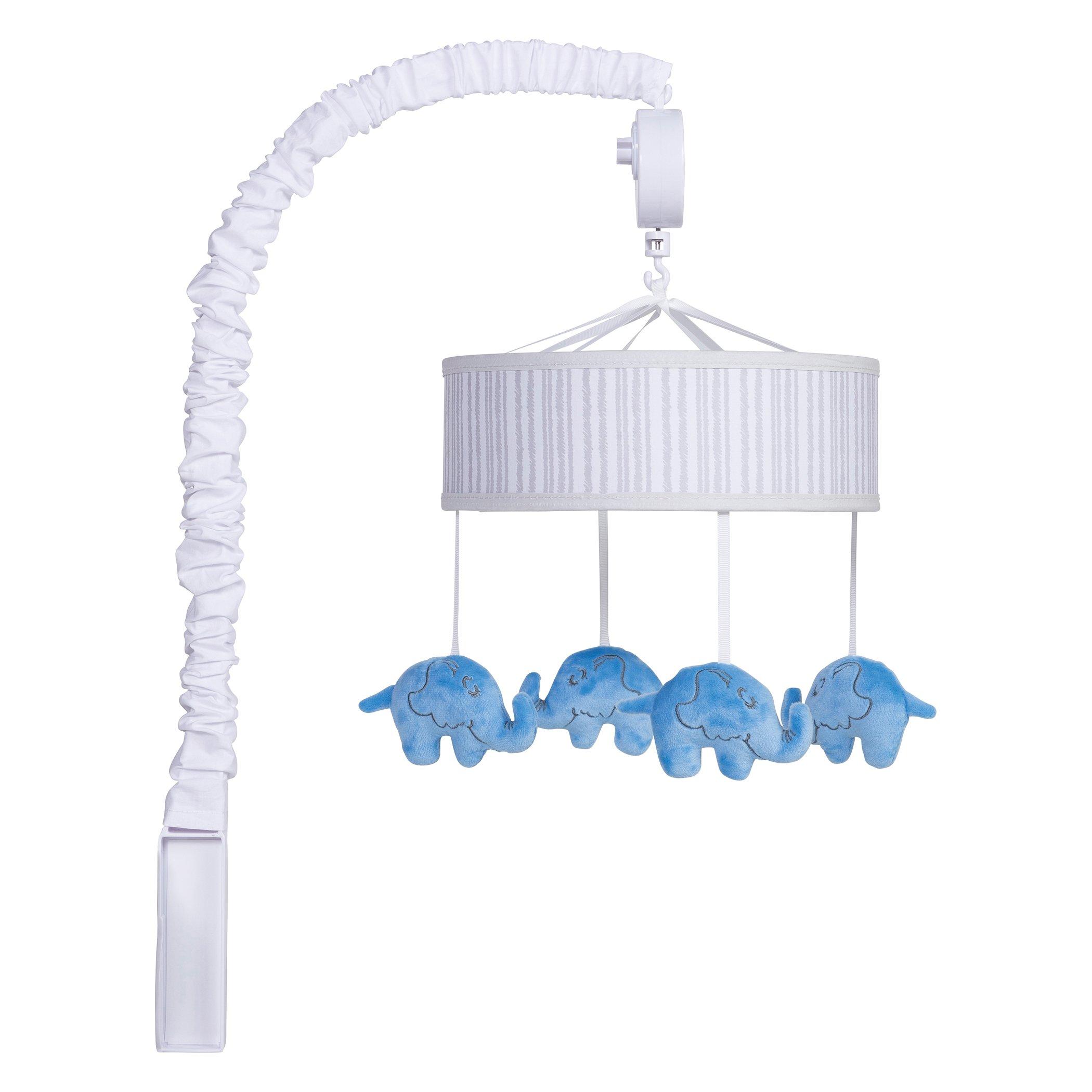 Trend Lab Dr. Seuss Horton Musical Mobile, Blue/Gray/White