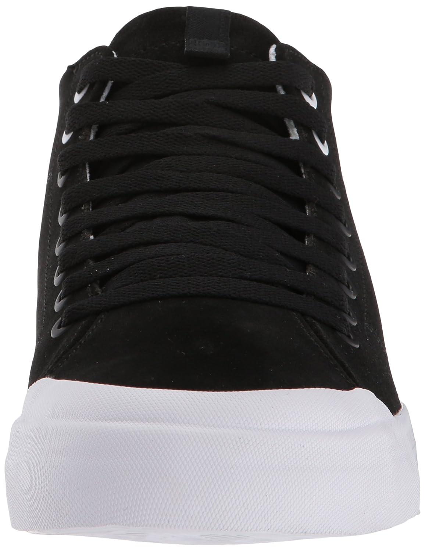 8c07e1b04 Zapato de skate para hombre DC Evan Smith Hi Zero Negro   Negro   Blanco