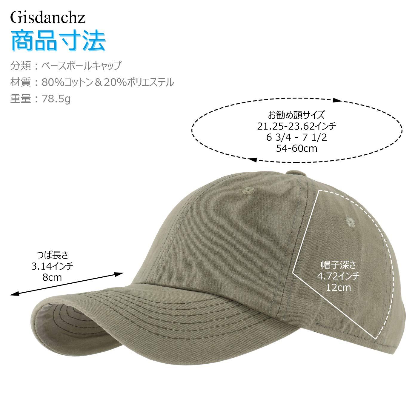 27f9c3f702febf Amazon.co.jp: Gisdanchz 帽子 メンズ キャップ レディース 無地 Cap ベースボールキャップ Hat 夏 Uvカット 帽子  野球帽 ベースボールキャップ ベースボールキャップ ...