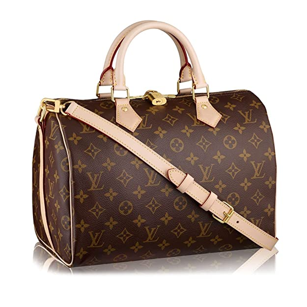 ccee4efbaad5 Louis Vuitton Monogram Canvas Speedy Bandouliere 30 Article M41112 Made in  France  Handbags  Amazon.com