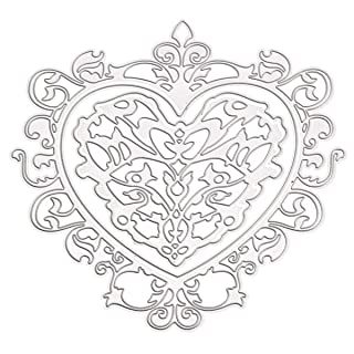 Heart Steel DIY Cutting Dies Stencil Scrapbook Card Album Paper Embossing Craft Decoration