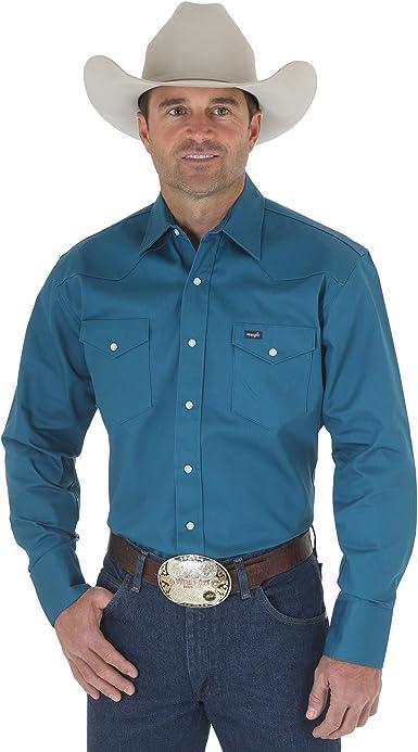 Wrangler MS71419 Camisa para Hombre, Selva negra verde, 3X-Large: Amazon.es: Ropa y accesorios