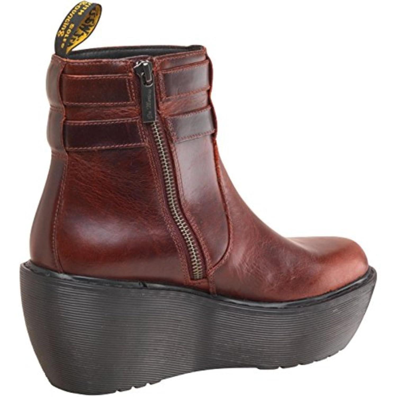 a18136ecb01 Dr Martens Womens Caitlin Boots Oxblood Brando (UK 9 EURO 43)   Amazon.co.uk  Shoes   Bags