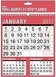 2017trois mois par page Calendrier Planning Mural spirale?Home Office Travail