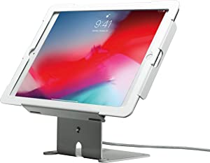 CTA Digital Tablet Stand, Locking Angle-Flip Stand for iPad (Gen. 5-6), iPad Pro 9.7, and iPad Air (Gen. 1-2)